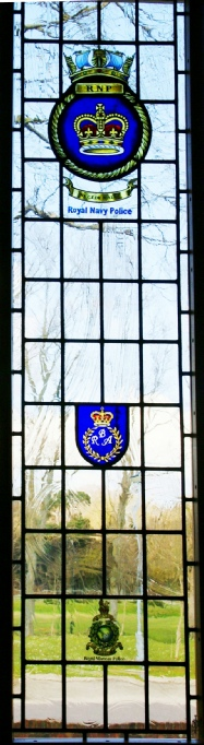 RNP Royal Navy Police window