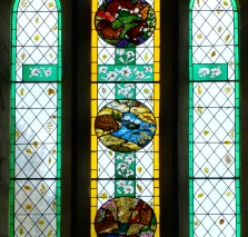 Selborne St Marys Church window
